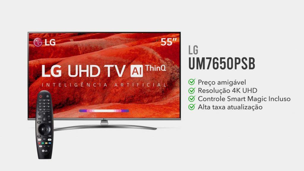 LG UM7650PSB e boa