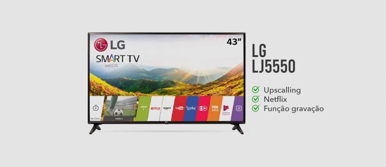TV LG LJ5550 é Boa