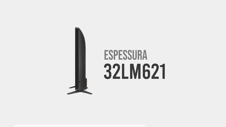 espessura 32LM621CBSB