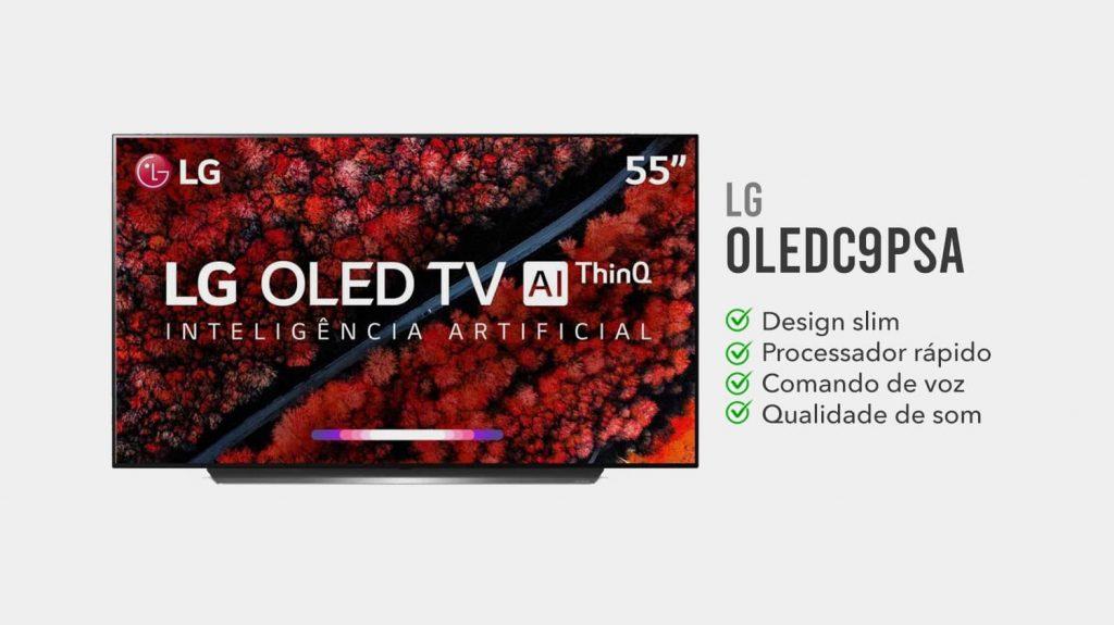 tv LG OLEDC9PSA e boa