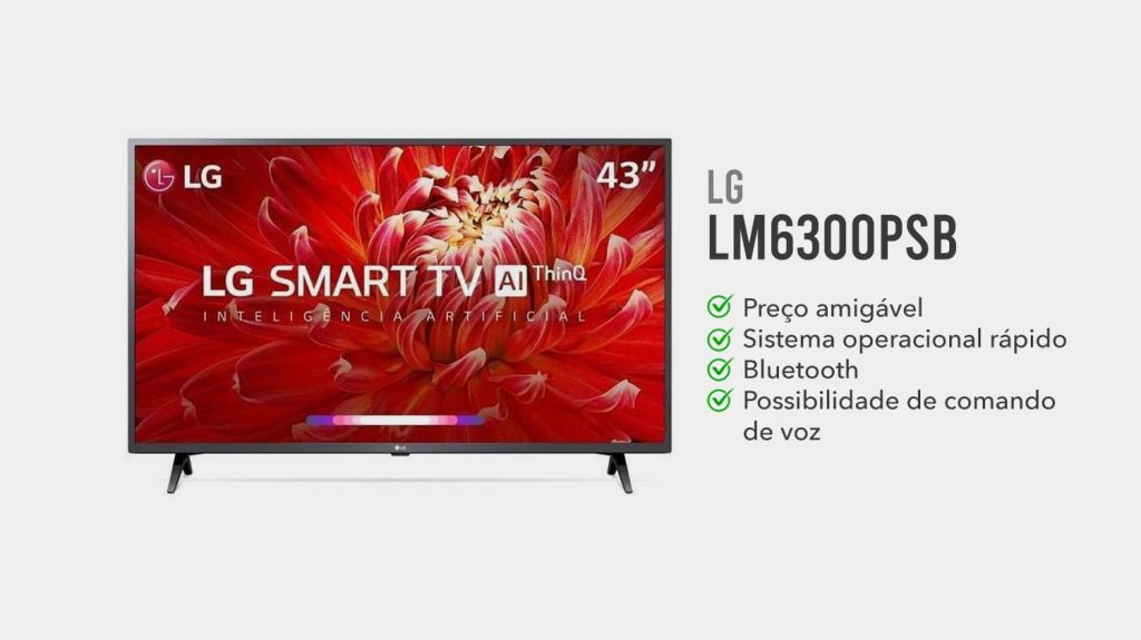 tv lg LM6300PSB e boa