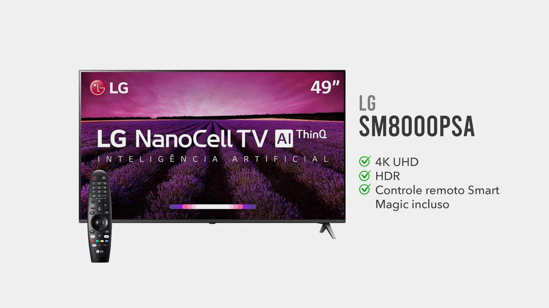 TV LG 49SM8000PSA É Boa