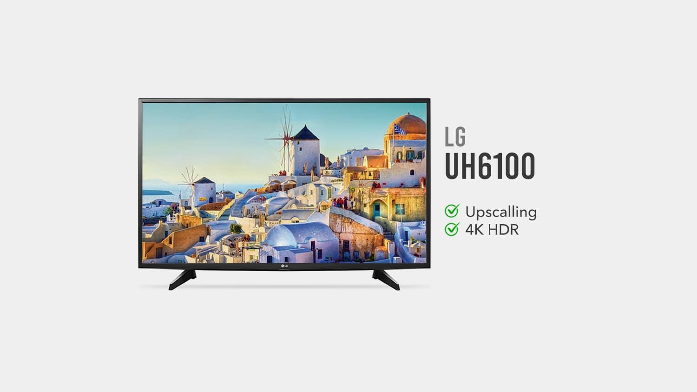 tv lg UH6100 e boa