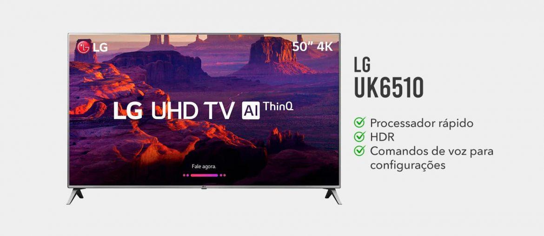 tv lg UK6510 e boa