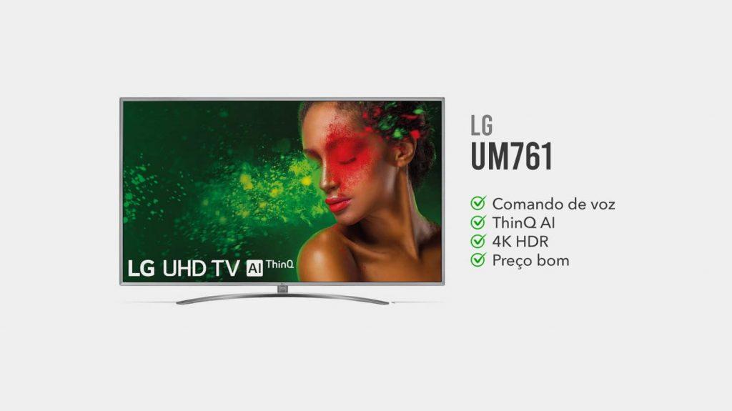 TV LG UM761 é Boa