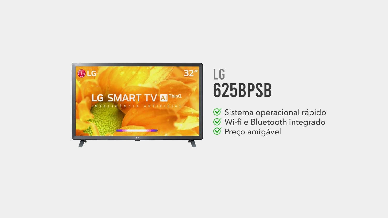 TV lg 625BPSB e boa