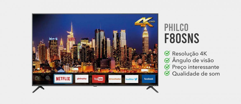 tv philco 58 4k é boa