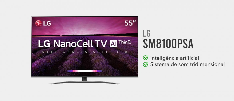 tv lg SM8100PSA e boa