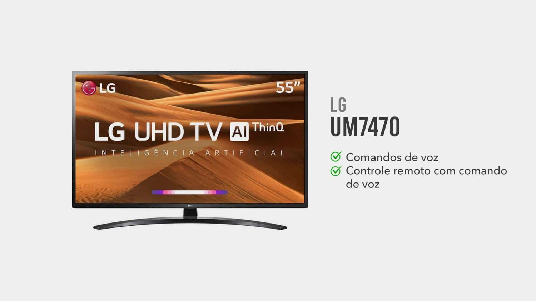 tv lg um7470 é boa