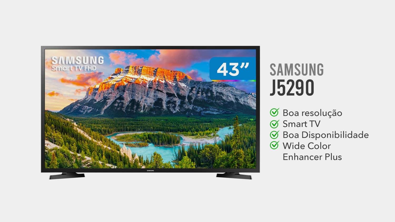 TV Samsung J5290 É Boa