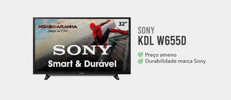 tv sony KDL W655D é boa