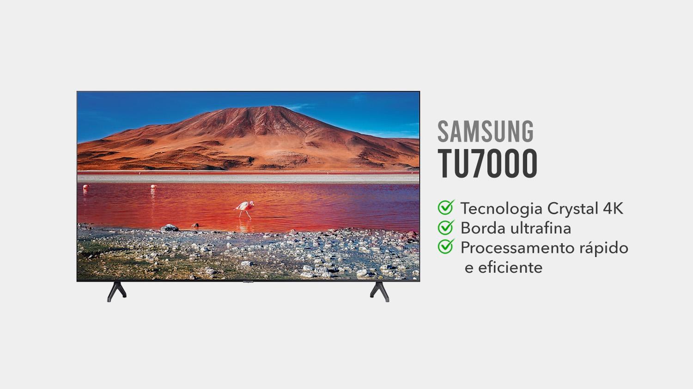 TV Samsung TU7000 e Boa