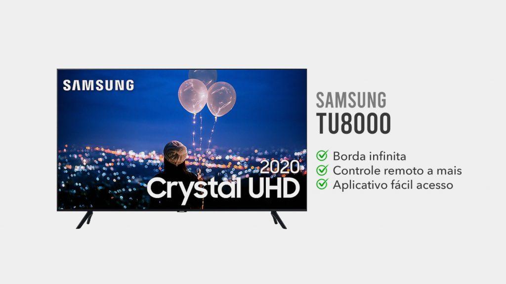 TV Samsung TU8000 e boa