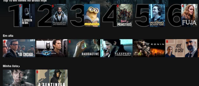melhores filmes da Netflix