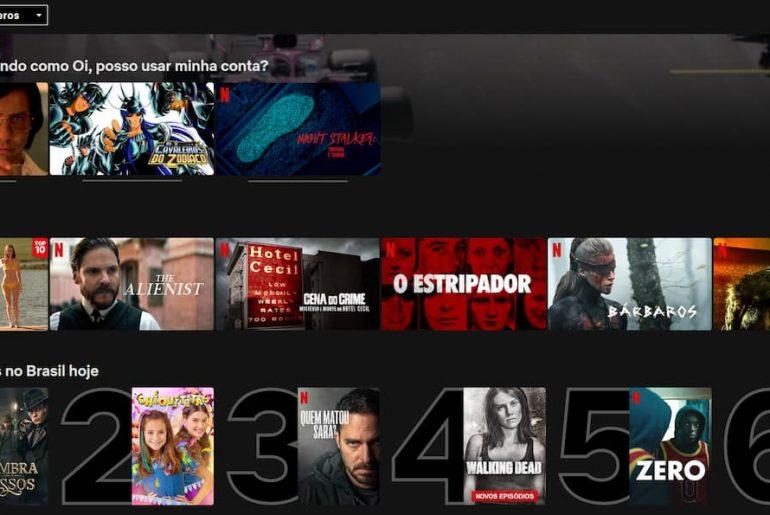 melhores séries da Netflix